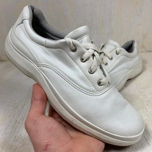 Keds White Leather Size 8 Casual Shoes